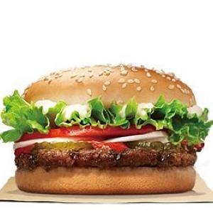 バーガーキングに感謝! 「ワッパージュニア」が半額180円で食べられるよ~