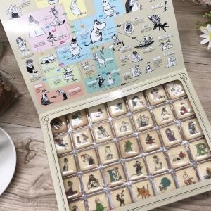 「ムーミン相関図」付きのキャラクッキーがおもしろ可愛い。 「飾りたいしとにかく欲しい」