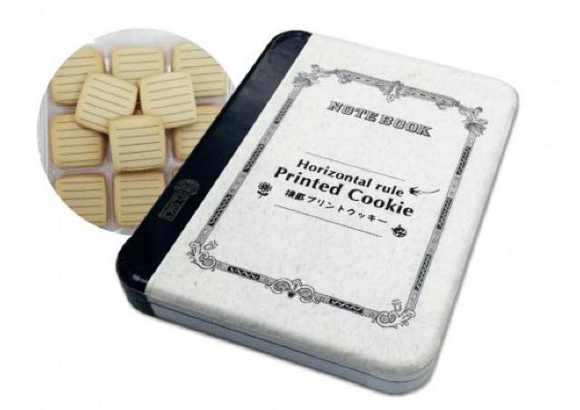 キミは...お菓子なの? ツバメノートが「メモリたくなる」クッキーに変身!