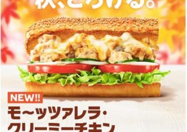 サブウェイ新サンドは「ポルチーニ」使用! チーズもたっぷりで贅沢だわ...