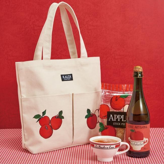 今年も可愛いよカルディの りんごバッグ サイズも生地もパワーup 東京バーゲンマニア