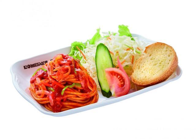 【歓喜】ついにコメダに「スパゲッティ」キターーー! 太麺ナポリタンとか...胸アツ!!