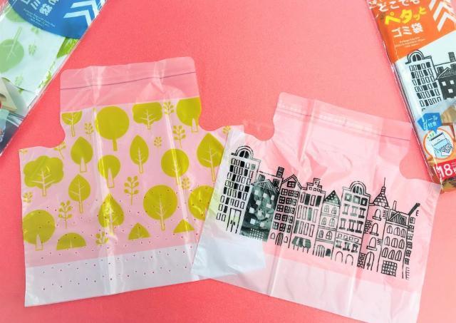 ダイソーの「貼りつくゴミ袋」が超絶便利。 キッチンの片付けあっという間。