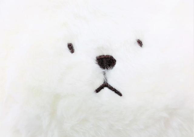 ダイソーで「幸せウサギ」発見。 フワフワで表情が可愛すぎるっっ!