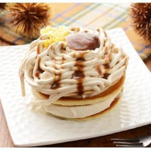 マロンクリーム盛り盛り! 「めっっっっっちゃくちゃ美味しい」パンケーキ、ローソンで発見。