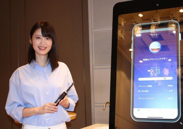 磨き癖がアプリでわかる! ブラウン オーラルBのAI搭載電動歯ブラシ「ジーニアスX」体験してみた。