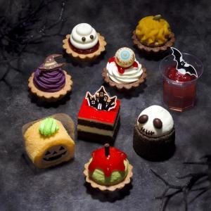 「グロかわいい」プチケーキ大量発生中! コージーコーナーのハロウィンめちゃくちゃ可愛い。