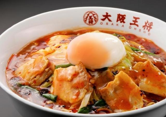 大阪王将の人気麺が500円に! お得に食べられる「麺フェア」は見逃せない。