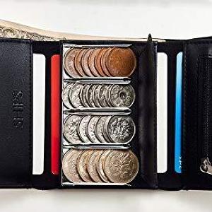 使える機能モリモリ「コイン仕切り財布」。 付録でこのクオリティは買い!