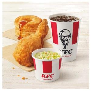 KFCの大好評「500円ランチ」に新セット誕生! 野菜入りでありがたい。