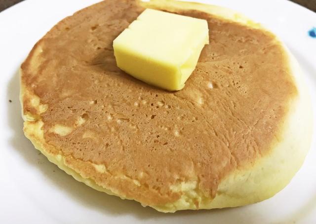 「水だけで作れるホットケーキ」がめっちゃ楽で美味しい。 いざという時の救世主。