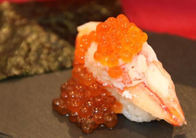 本ずわい蟹のにぎり180円! かっぱ寿司で食べて損なし、高コスパな4皿