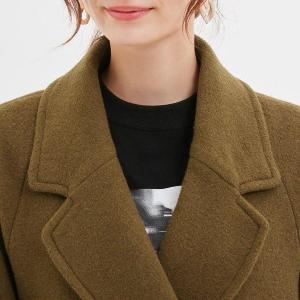どんな服にも合いそう。 小顔効果も叶える優秀コート、GUで発見!