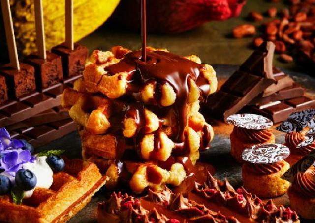 チョコレートの本場「ベルギー」をテーマにした甘ーいビュッフェ