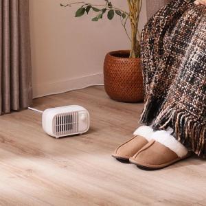 「足だけ冷える」対策に。 ニトリのミニヒーターが頼りになりそうだよ~。