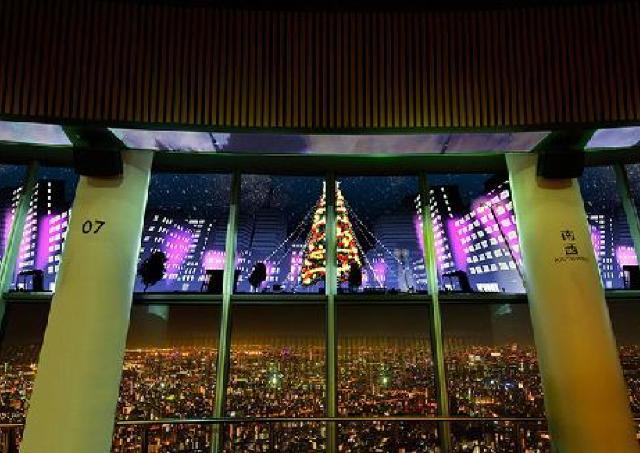 約50万球の電球を使用。東京スカイツリータウンがクリスマス限定ライティング