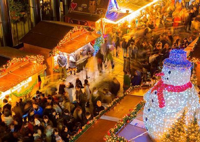 本場ドイツのクリスマスマーケットが丸ごとやってくる!