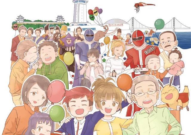 日本全国から55団体が参加 「B-1グランプリ in 明石」