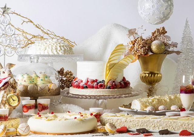 不思議な世界をお菓子で表現 「アリスのホワイトクリスマス」