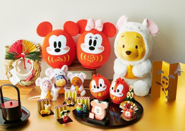 ねずみ年はミッキーと! お正月限定のディズニーグッズは見逃せない可愛さ。