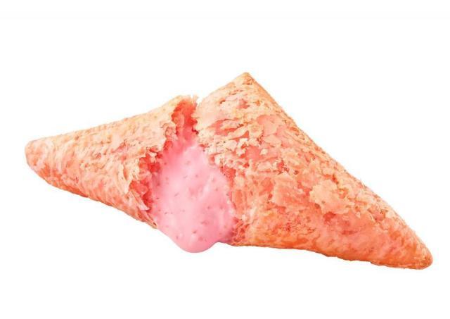 美味しいやつだ。 マックの「三角チョコパイ」にあまおう登場