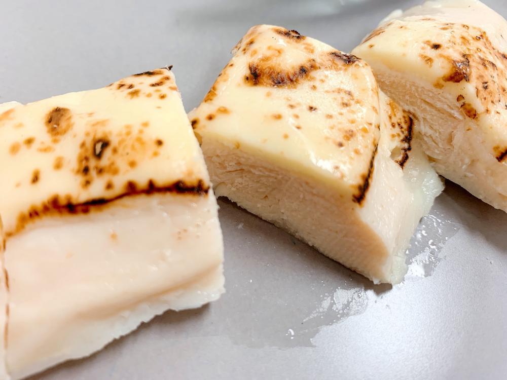 チキン チーズ サラダ 炙り