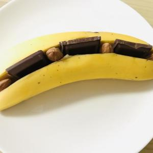 バナナを焼いただけなのに...。 ニッカウヰスキー公式のレシピがめちゃうまだった。