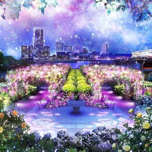 【入場無料】ローズガーデンで楽しむ「光の花」イルミネーション