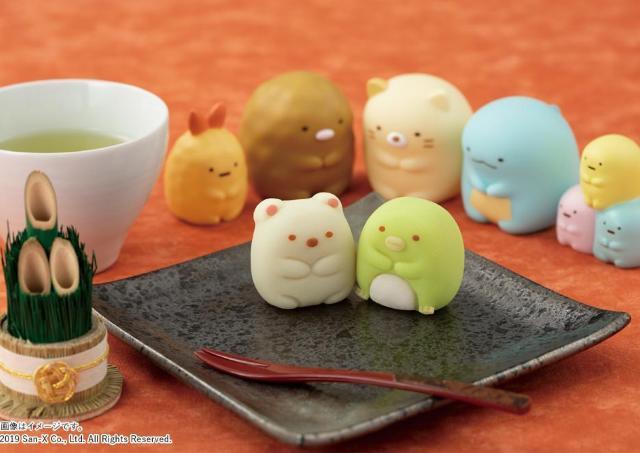 最強の癒しでは? イオンに「すみっコぐらし」の和菓子やってくるよ。