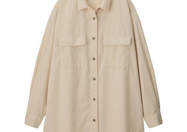 「プチプラ感がない」 秋に注目されたGUの「オーバーシャツ」、春カラーも注目です。