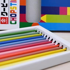 売り切れ待ったなし! クーピーお箸が大人気、12色どれから使う?