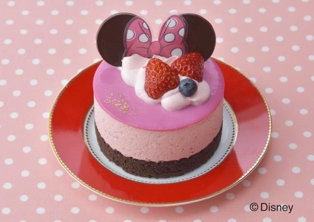 テンション爆上げ~! コージーコーナーのケーキがミニーになってる!
