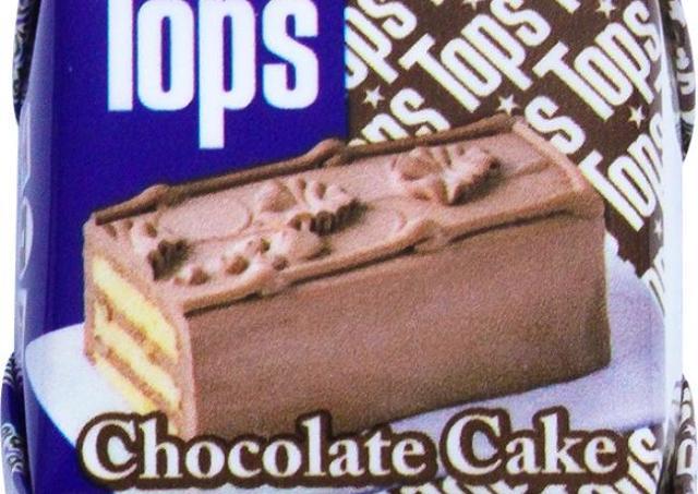 トップスのチョコケーキが42円!? セブンで買える「チロルチョコ」が美味しそう。