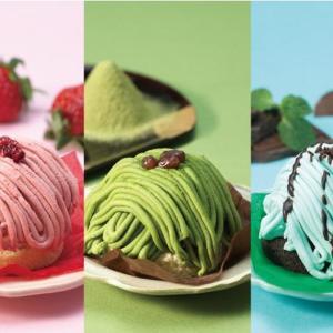 3色のモンブランが美しすぎる...! かっぱ寿司のスイーツ、専門店レベルでは?