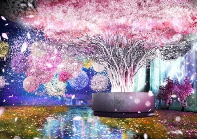 体験型アート展「FLOWERS BY NAKED 2020 −桜−」で一足早くお花見を