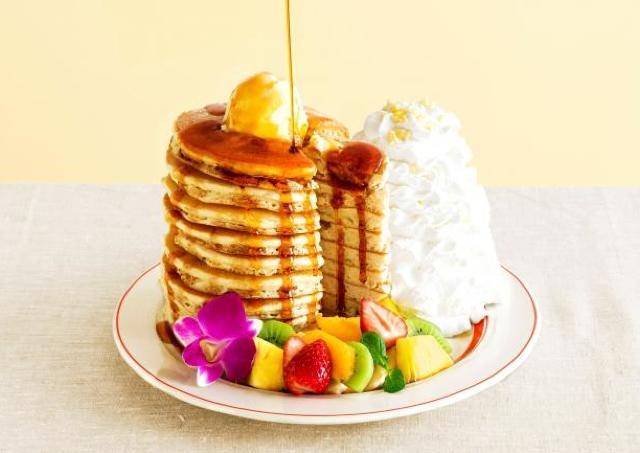 Eggs 'n Things日本上陸10周年記念! 10枚重ねパンケーキが登場