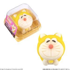 黄色い「元祖ドラえもん」が和菓子になったよ~! ローソンで待ってるって。