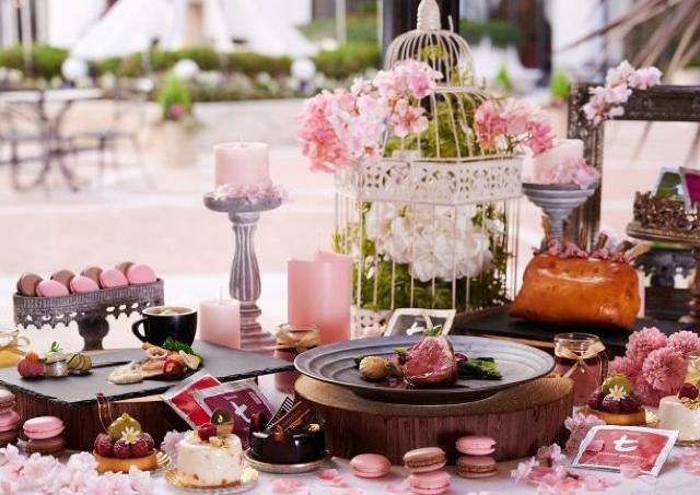 桜にちなんだメニューと紅茶のマリアージュが楽しめるTea Party