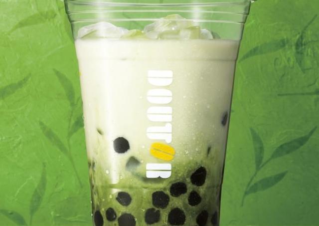 大人気、ドトール「タピオカ」に春の新作! 宇治抹茶ミルク味、期待しかない。