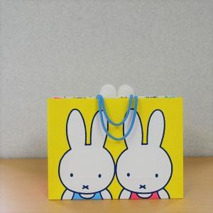 ミッフィーの限定ショッピングバッグが可愛い。 1000円のお買い物でもらえるよ~。