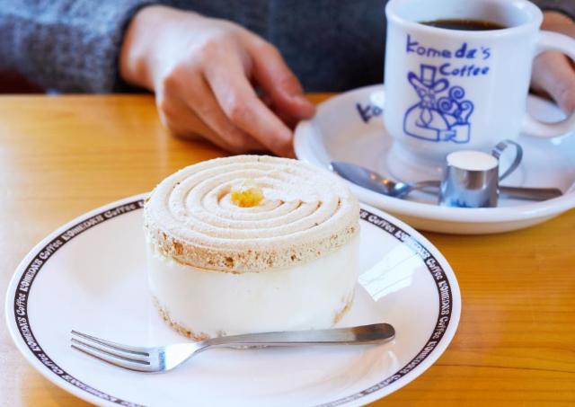 「満足感がすごい」と人気! コメダの季節限定ケーキはもう食べた?
