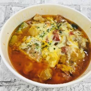 トマトとニンニクがうまあああい! 松屋の新作「カチャトーラ定食」食べてみた。