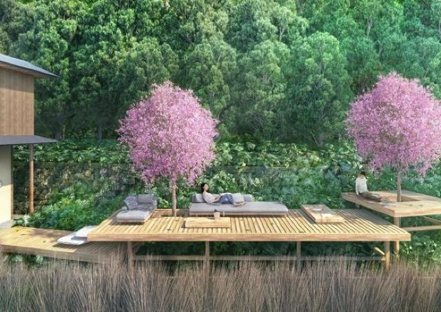 1日1組限定! 「星のや京都」でゆったりお花見