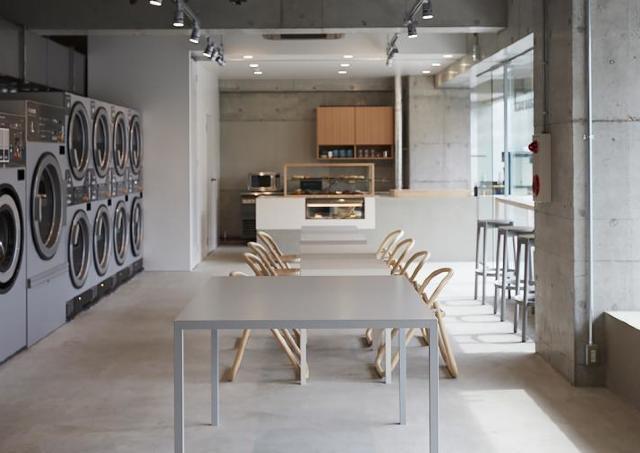 カフェ併設ランドリー「Baluko Laundry Place」金沢初出店