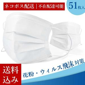 送料無料・3000円以内51枚入り3層マスクなら、まだ楽天市場で手に入る。