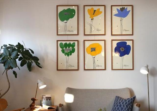丸亀で「山口一郎と花のある暮らし」 生け花を展示