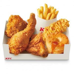 最大650円もお得! KFC人気メニューを合わせた「パック」がおこもりに最適かも。