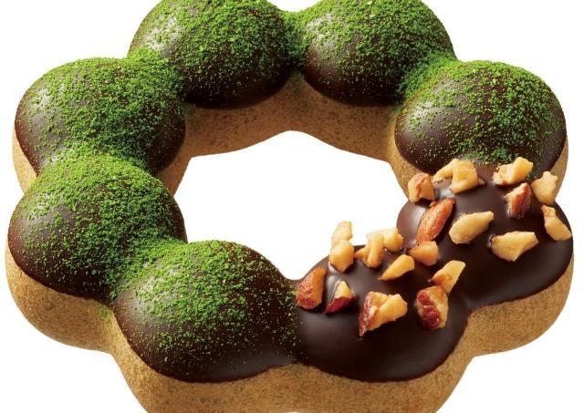 ミスドに極上の抹茶ドーナツが誕生! 祇園辻利、鎧塚シェフと初の3社コラボ