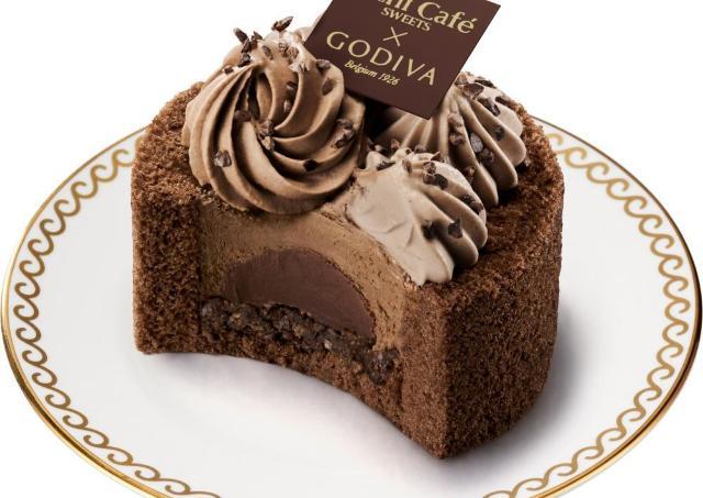 超待ってた! ローソン×ゴディバの新作ケーキ、美しい断面にも注目です。