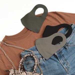 行き場のないブランド衣料品が「COOLマスク」に! 吸汗速乾、UVカット機能も。